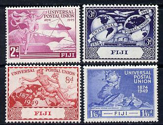 Fiji 1949 KG6 75th Anniversary of Universal Postal Union set of 4 unmounted mint, SG 272-75