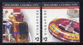 Singapore 2003 Singapore - A Global City 2nd series set of 2 unmounted mint SG 1277-78