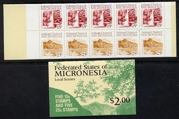 Booklet - Micronesia 1988 $2.00 booklet complete and find SG SB2