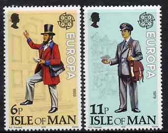 Isle of Man 1979 Europa  (Communications) set of 2, SG 148-49 unmounted mint