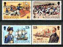 Isle of Man 1979 150th Death Anniversary of Capt John Quilliam set of 4 unmounted mint, SG 159-62