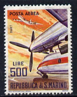 San Marino 1963-65 Rolls Royce Dart 500L unmounted mint SG 741