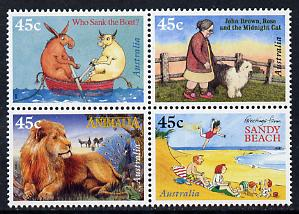 Australia 1996 Children's Book Awards set of 4 unmounted mint, SG 1631a
