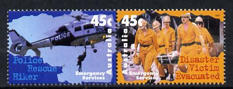 Australia 1997 Emergency Services 45c set of 2 unmounted mint SG 1698-9