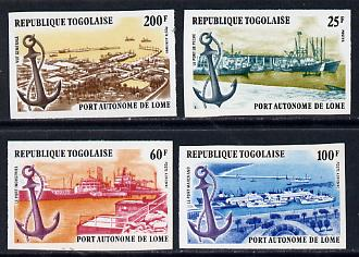 Togo 1978 Autonomous Port of Lome set of 4 imperf from limited printing unmounted mint as SG 1276-9