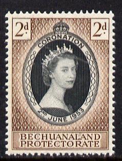 Bechuanaland 1953 Coronation 2d unmounted mint SG 142