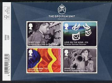 Great Britain 2014 The GPO Film Unit perf m/sheet unmounted mint