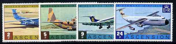 Ascension 1975 Wideawake Airfield set of 4 unmounted mint, SG 187-90