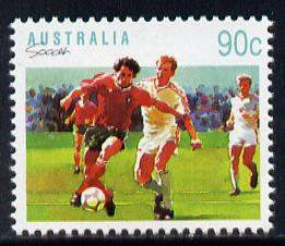 Australia 1989-94 Football 90c unmounted mint, from Sports def set of 19, SG 1191