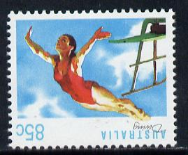 Australia 1989-94 Diving 85c unmounted mint, from Sports def set of 19, SG 1190