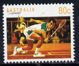 Australia 1989-94 Squash 80c unmounted mint, from Sports def set of 19, SG 1189