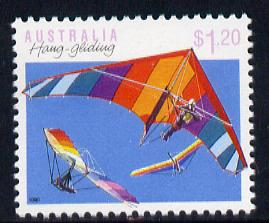 Australia 1989-94 Hang-Gliding $1.20 unmounted mint, from Sports def set of 19, SG 1194