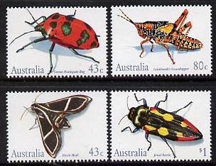 Australia 1991 Insects perf set of 4 unmounted mint SG 1287-90