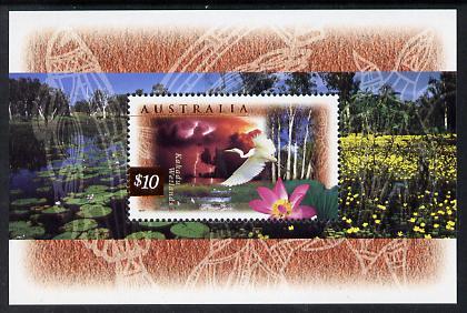 Australia 1997 Fauna & Flora (2nd series) m/sheet unmounted mint, SG MS 1686a