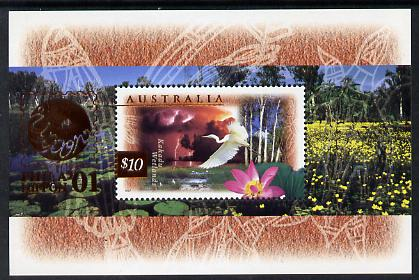 Australia 1997 Fauna & Flora (2nd series) m/sheet with Phila  Nippon overprint unmounted mint, as SG MS 1686a