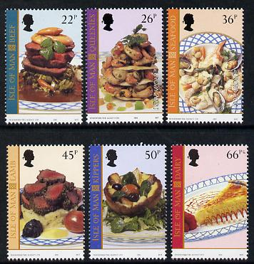 Isle of Man 2001 Europa - Local Dishes perf set of 6 unmounted mint SG 947-52