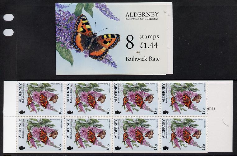 Booklet - Guernsey - Alderney 1997 Flora & Fauna \A31.44 booklet complete & fine SG ASB3