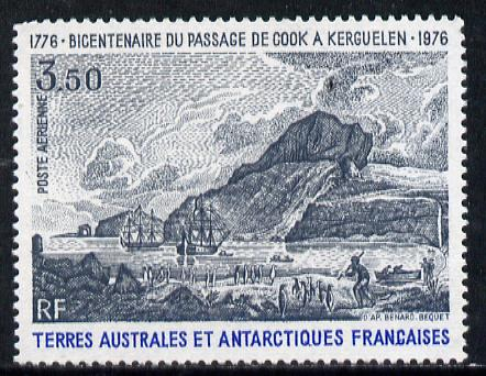 French Southern & Antarctic Territories 1976 Bicentenary of Cook's Passage 3f50 unmounted mint SG 109