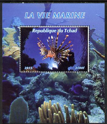 Chad 2015 Marine Life #1 perf deluxe sheet unmounted mint. Note this item is privately produced and is offered purely on its thematic appeal. .