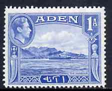 Aden 1939-48 KG6 The Harbour 1a pale blue unmounted mint SG 18*