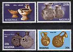Nigeria 1990 Pottery complete perf set of 4, SG 588-91 unmounted mint*