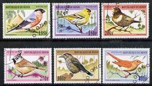Benin 1997 Birds complete set of 6 values cto used, SG 1652-57