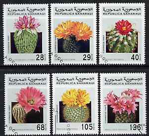 Sahara Republic 1997 Cacti complete perf set of 6 values cto used