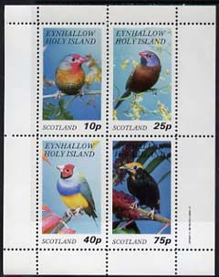 Eynhallow 1982 Birds #14 perf  set of 4 values (10p to 75p) unmounted mint