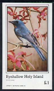 Eynhallow 1982 Birds #14 imperf souvenir sheet (�1 value) unmounted mint