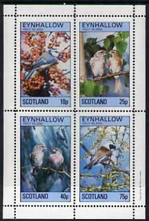 Eynhallow 1981 Birds #15 perf  set of 4 values (10p to 75p) unmounted mint