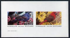 Eynhallow 1982 Birds #16 imperf  set of 2 values (40p & 60p) unmounted mint