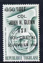 Togo 1962 Colonel Glenn