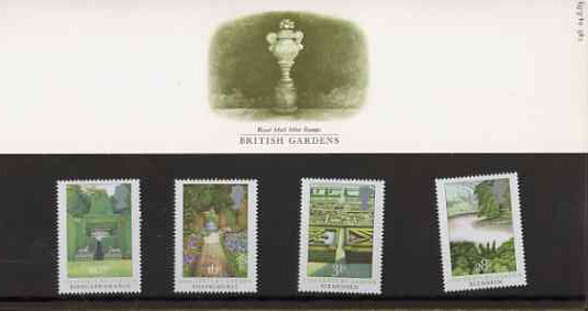 Great Britain 1983 British Gardens set of 4 in official presentation pack SG 1223-26