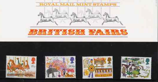 Great Britain 1983 British Fairs set of 4 in official presentation pack SG 1227-30