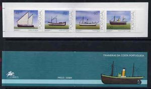 Booklet - Portugal 1993 Trawlers 332E booklet complete and pristine, SG SB66