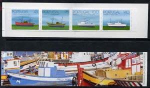 Booklet - Portugal 1994 Trawlers 360E booklet complete and pristine, SG SB69