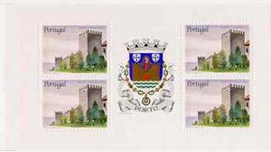 Booklet - Portugal 1988 Fernandine Walls Castle 108E booklet complete and pristine, SG SB41