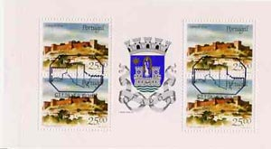 Booklet - Portugal 1987 Silves Castle 100E booklet complete with first day commemorative cancel, SG SB34
