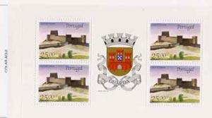 Booklet - Portugal 1987 Trancosa Castle 100E booklet complete and pristine, SG SB38