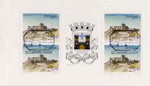 Booklet - Portugal 1987 Marvao Castle 100E booklet complete with first day commemorative cancel, SG SB39