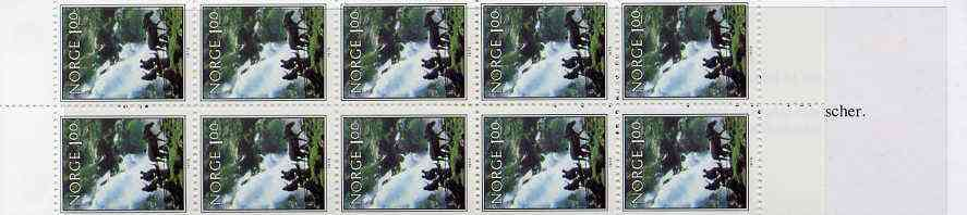 Booklet - Norway 1979 Norwegian Scenery 10k booklet complete and pristine, SG SB60