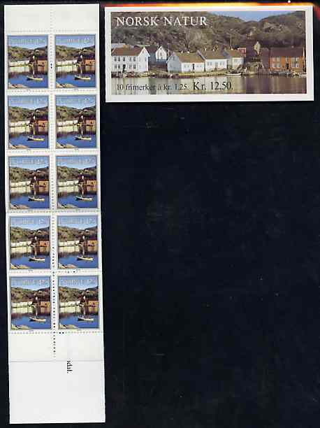 Booklet - Norway 1979 Norwegian Scenery 12k50 booklet complete and pristine, SG SB61