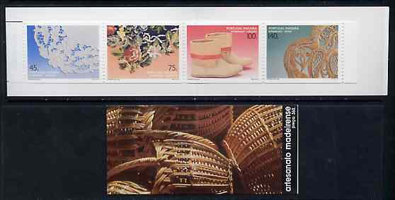 Booklet - Portugal - Madeira 1994 Traditional Crafts (1st series) 360E booklet complete and pristine, SG SB13