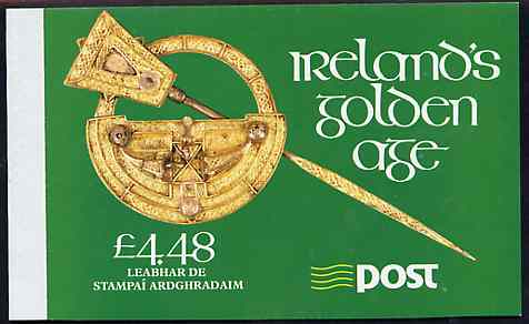 Booklet - Ireland 1989 Saints Death Anniversary \A34.48 booklet complete with special commemorative first day cancels, SG SB33