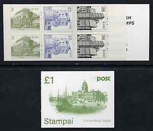 Booklet - Ireland 1985 Architecture �1 booklet complete and pristine, SG SB27