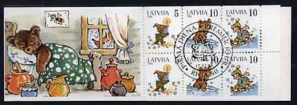 Booklet - Latvia 1994 Margarita Staraste (Children