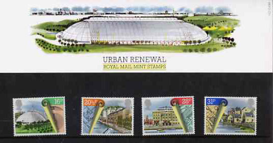 Great Britain 1984 Urban Renewal set of 4 in official presentation pack SG 1245-48