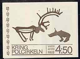 Booklet - Sweden 1970 Sweden Within the Arctic Circle 4k50 booklet complete and pristine, SG SB247
