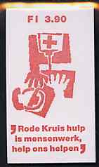 Booklet - Netherlands 1987 Red Cross 3g90 booklet complete and very fine, SG SB97