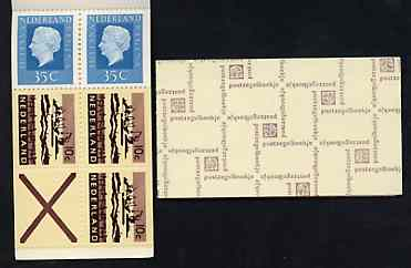 Booklet - Netherlands 1972 Delta Excavation & Juliana 1g booklet complete and very fine, SG SB73